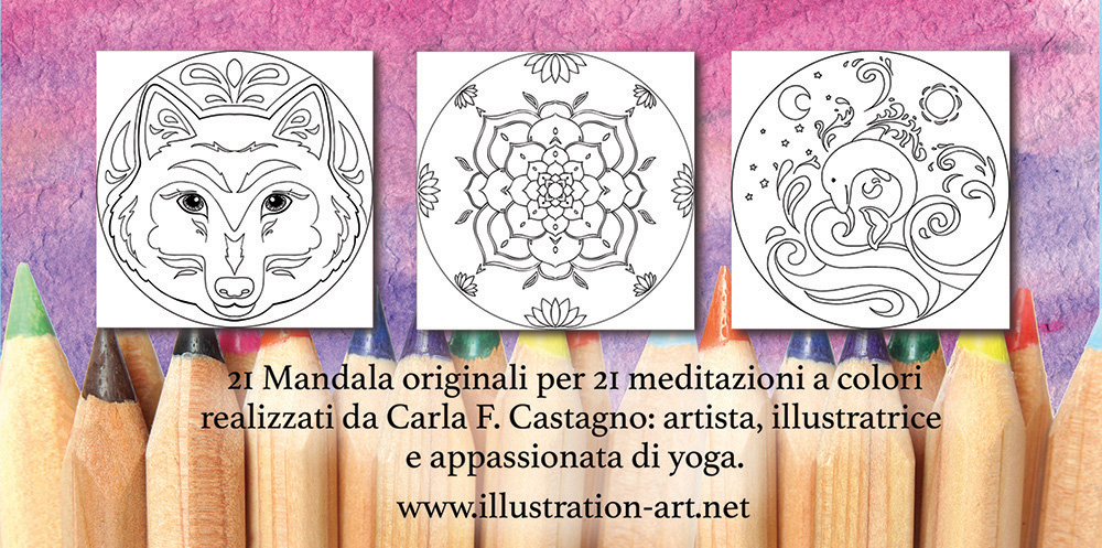 libro mandala coloring book