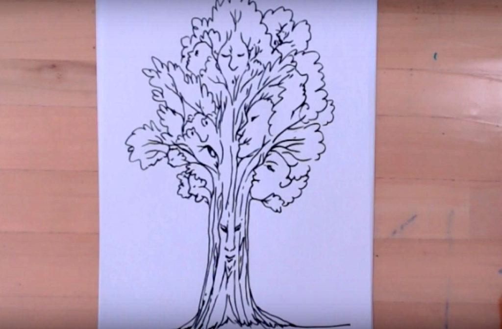 L'albero degli elfi – gioco disegnato