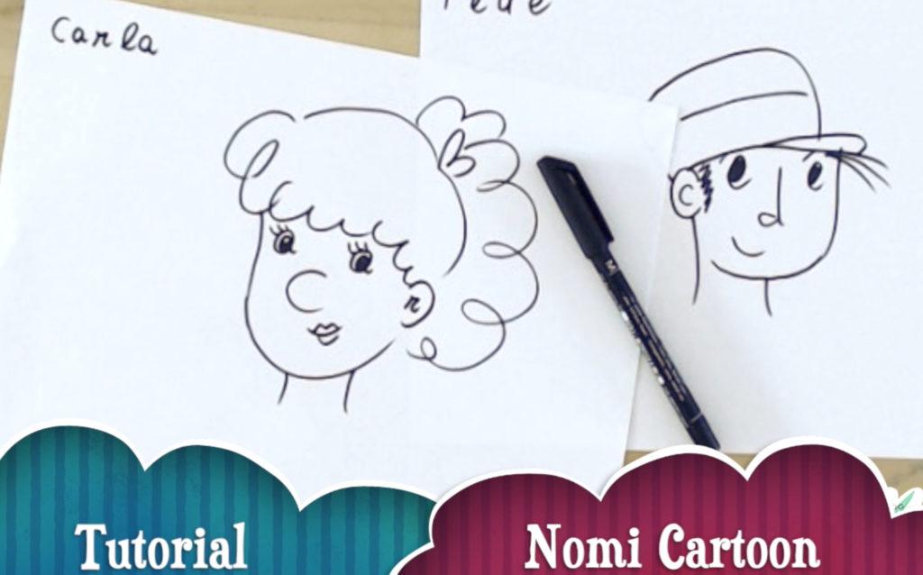 Tutorial: nomi cartoon
