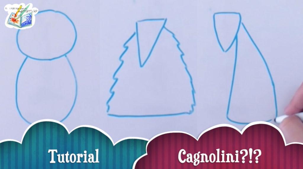 Tutorial per bambini: disegnare cagnolini