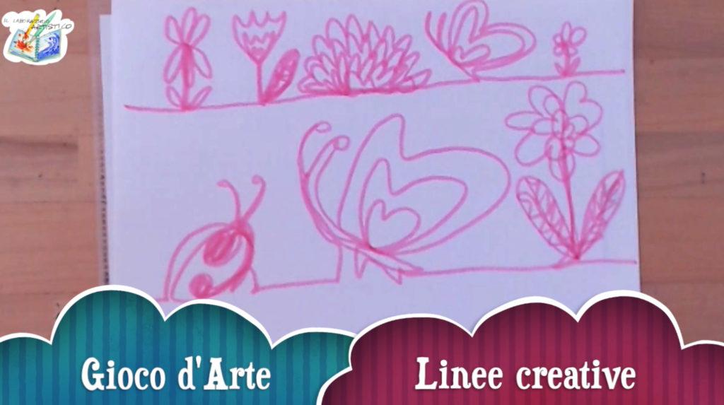 Gioco d'arte: linee creative