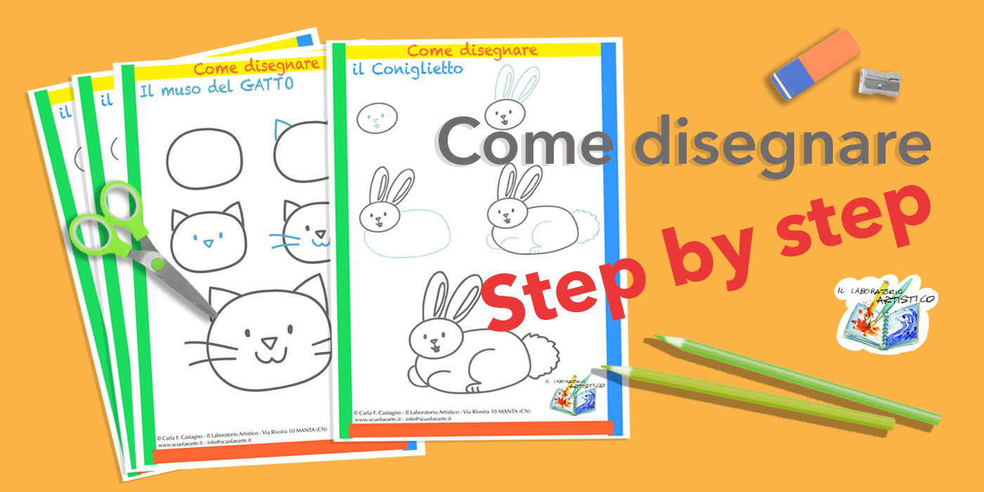 come disegnare step by step