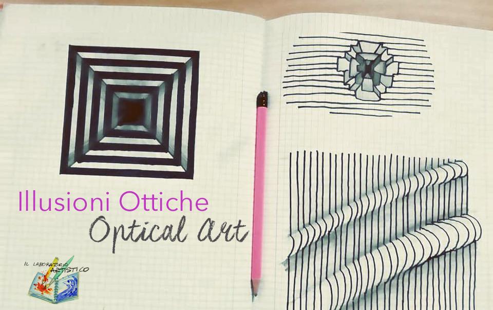 Le illusioni della optical art