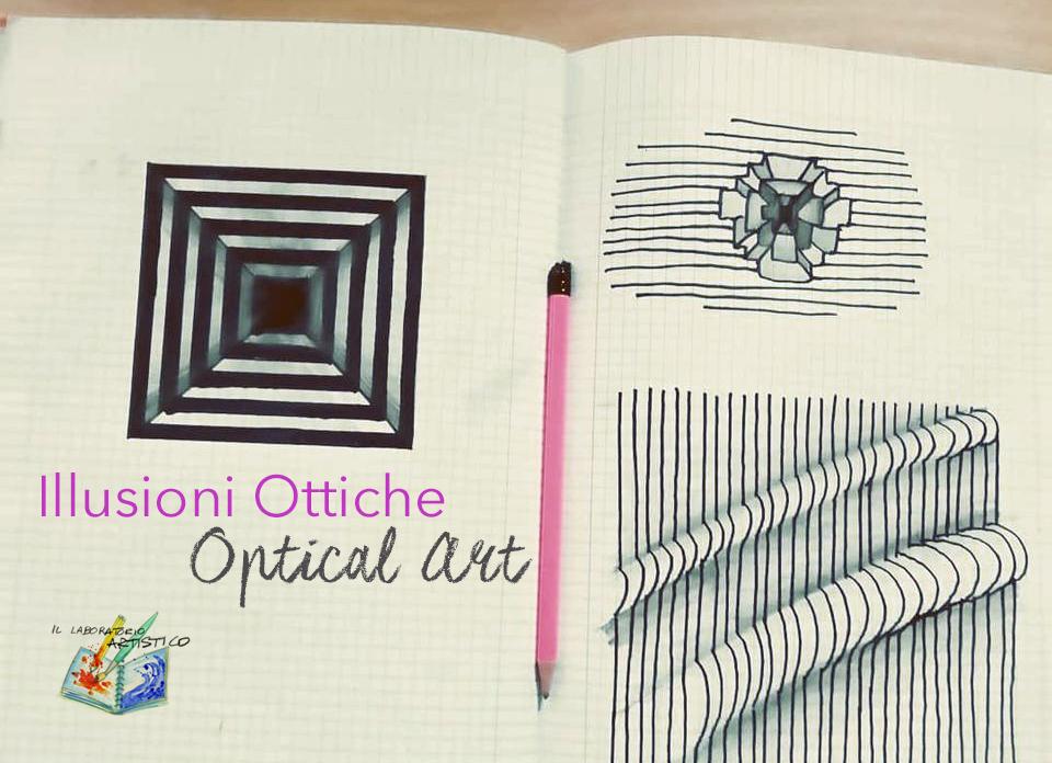 illusioni ottiche, optical art