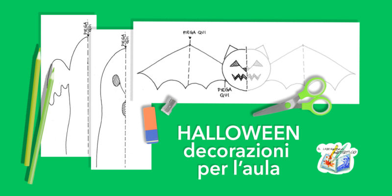 halloween decorazioni per l'aula