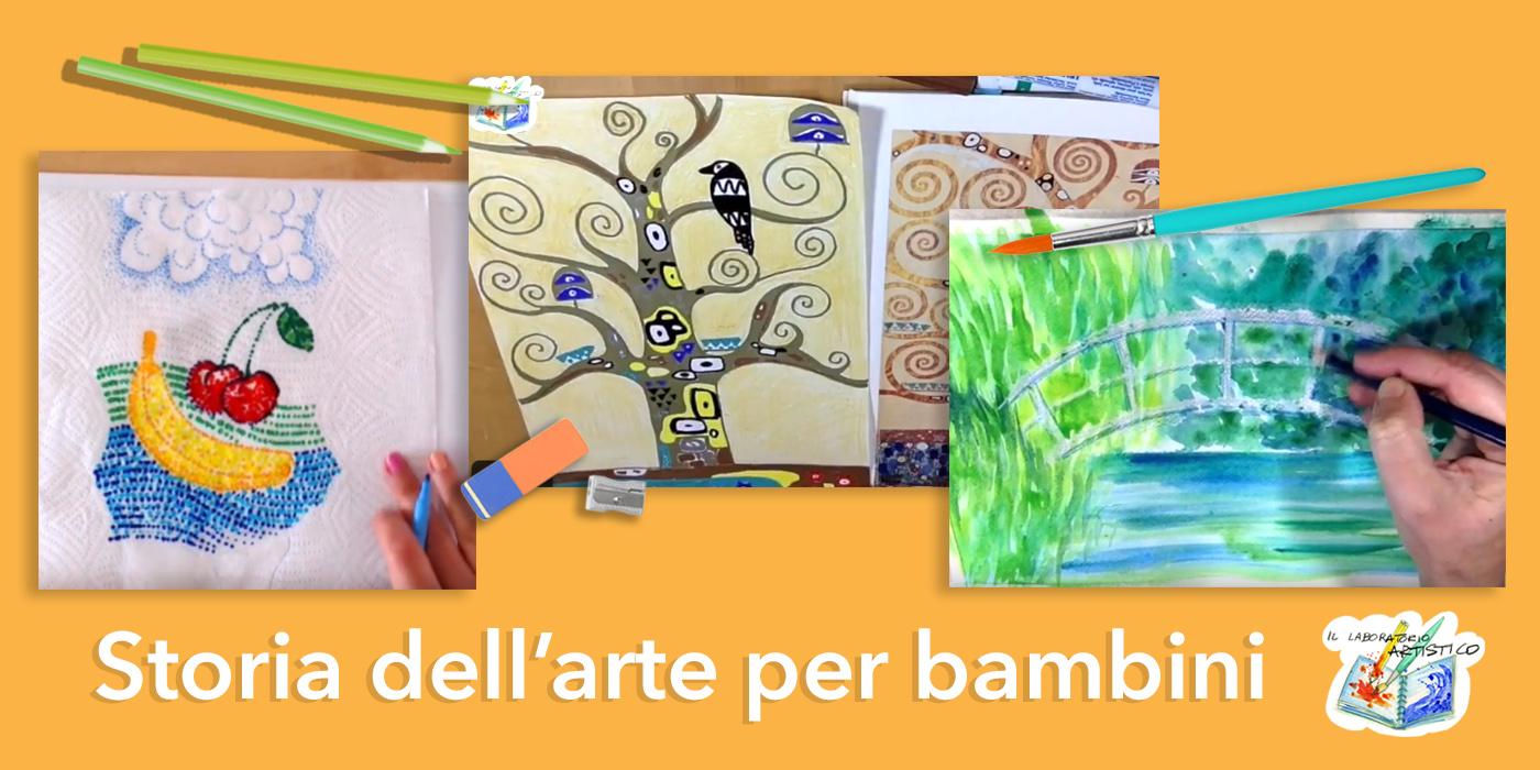 storia dell'arte per bambini