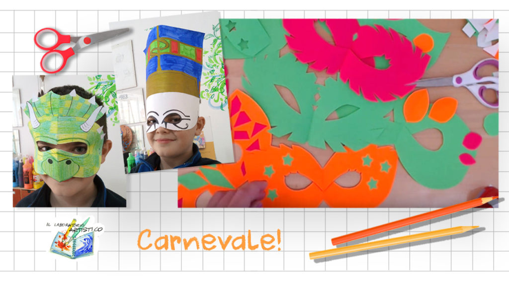 Carnevale: dai dinosauri a Nefertiti,  tante idee faidate!