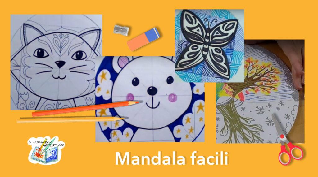 Mandala: 4 semplici tutorial