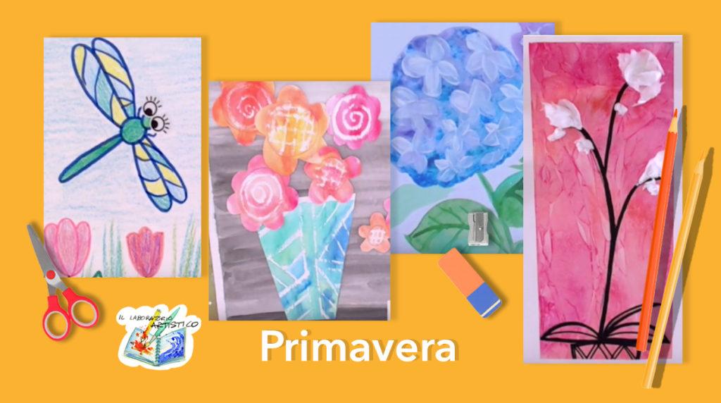 Primavera: 4 progetti d'arte per bambini