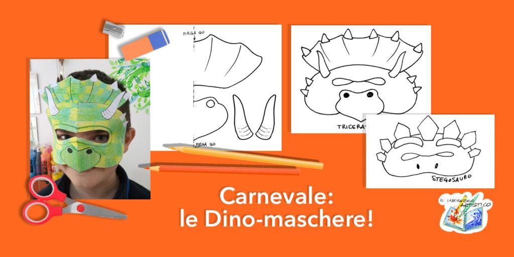 maschere dei dinosauri