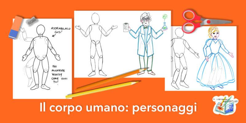 corpo umano: personaggi