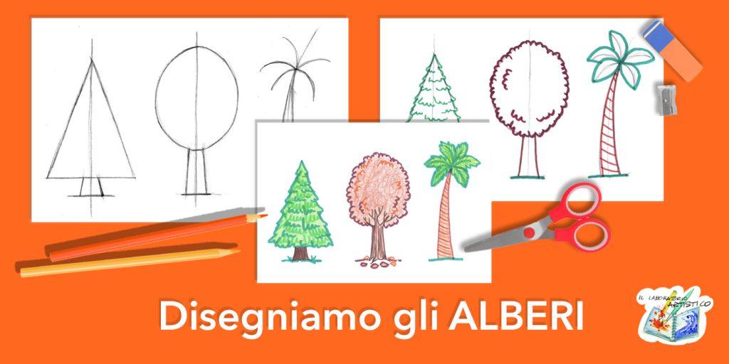 Come disegnare gli alberi