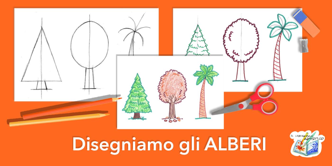 Disegnare alberi