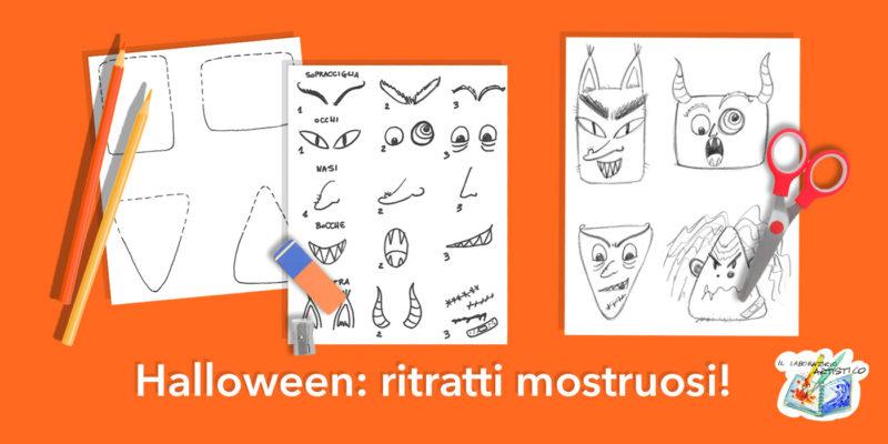 halloween ritratti mostruosi
