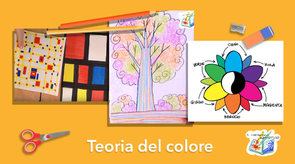 Teoria del colore per bambini