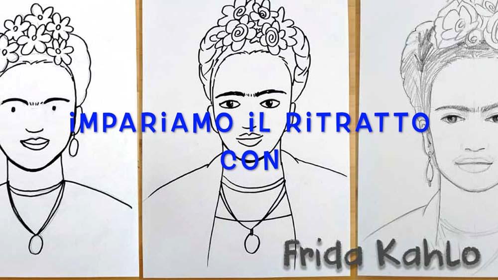 Impariamo il ritratto con Frida – anteprima