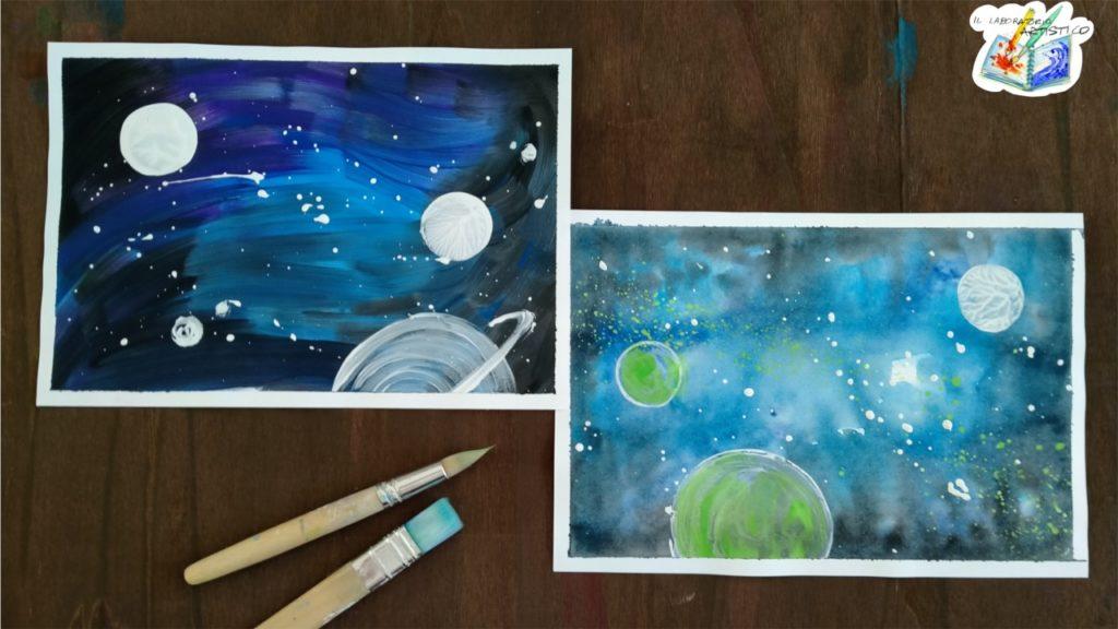 Dipingere una galassia