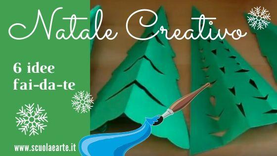 Natale: 6 idee creative fai-da-te