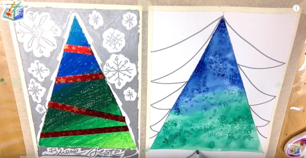 Alberi di Natale: 4 idee creative con la carta